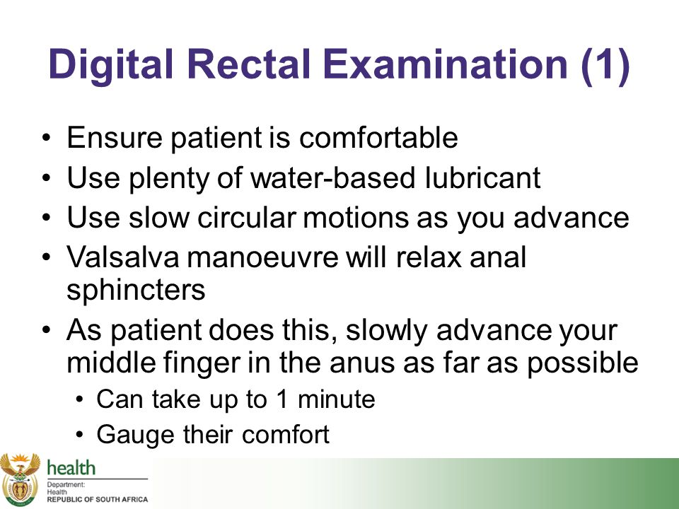 Digital Rectal Examination (1)
