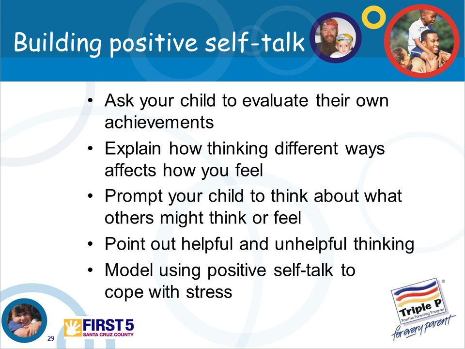 Building positive self-talk