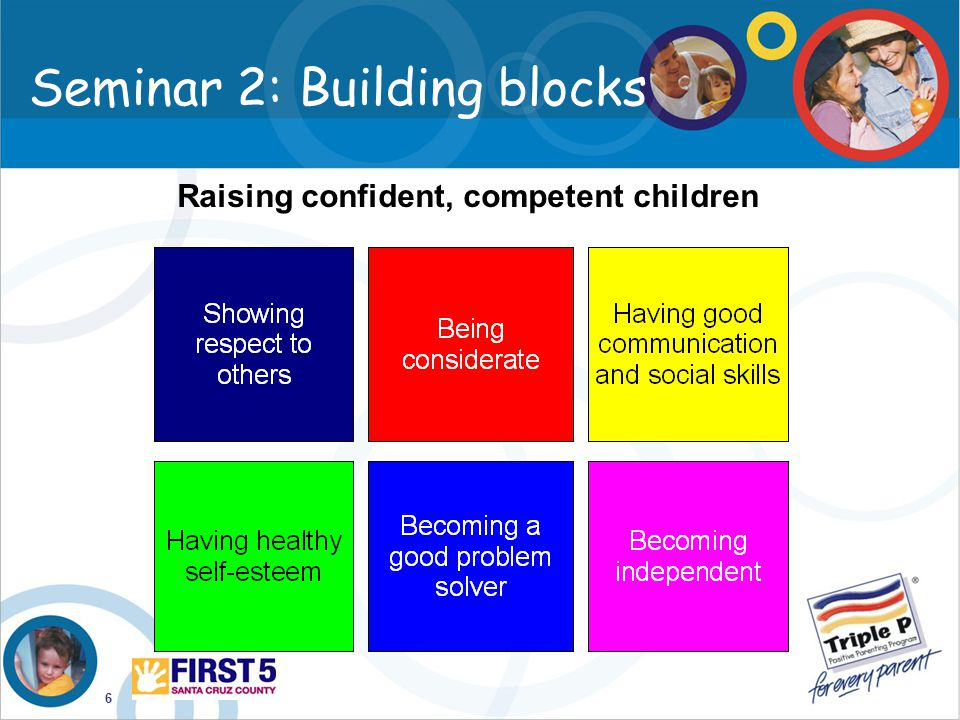 Seminar 2: Building blocks