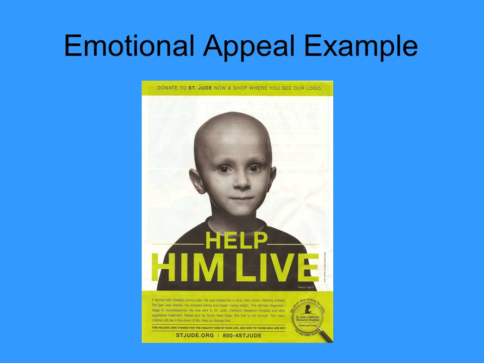 Emotional Appeal Example