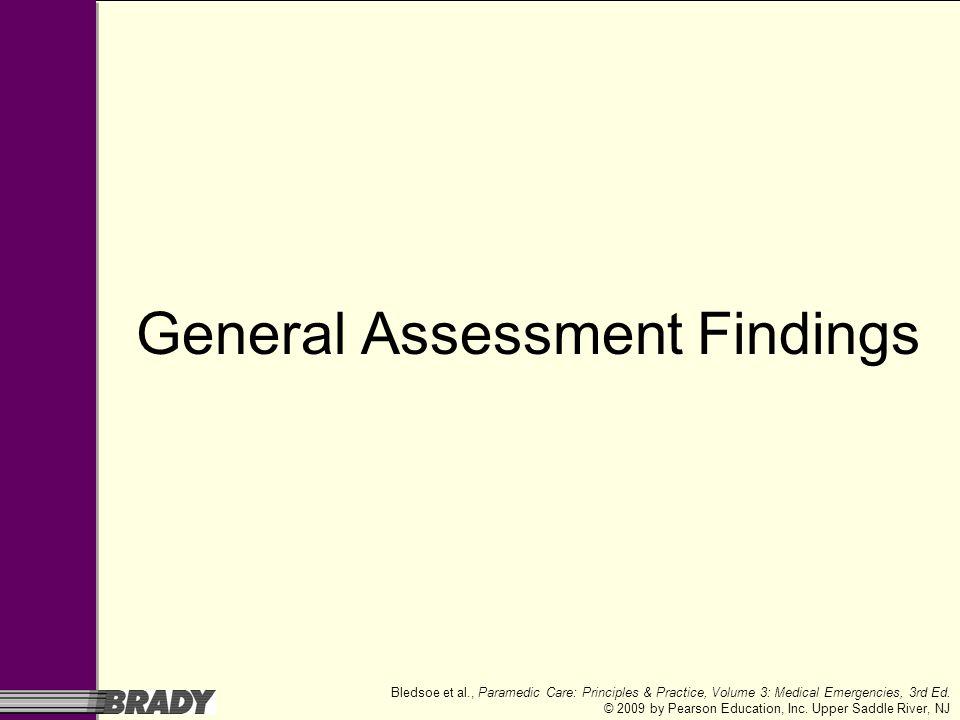 General Assessment Findings