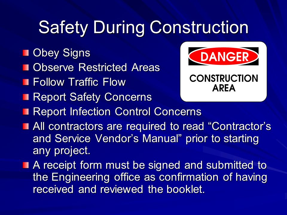 Safety During Construction