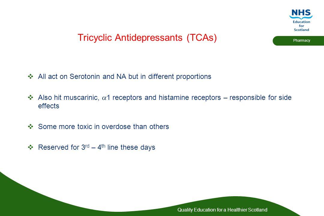 Tricyclic Antidepressants (TCAs)