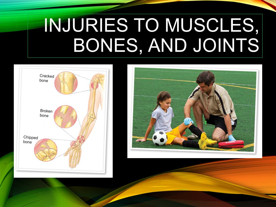 Injuries to Muscles, Bones, and Joints