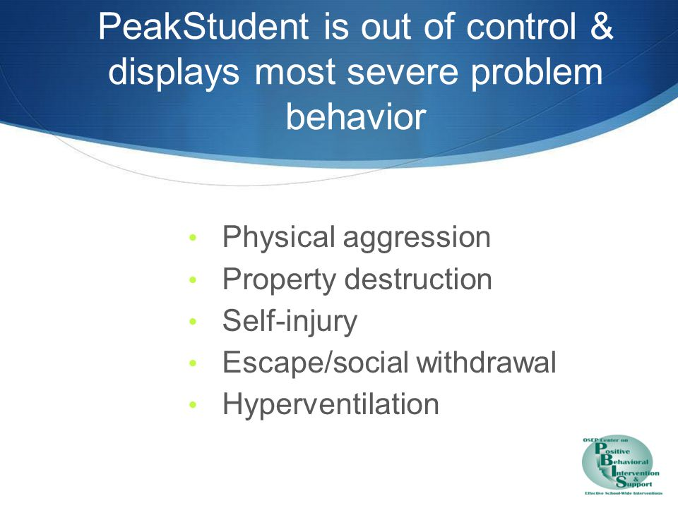 PeakIntervention is focused on safety