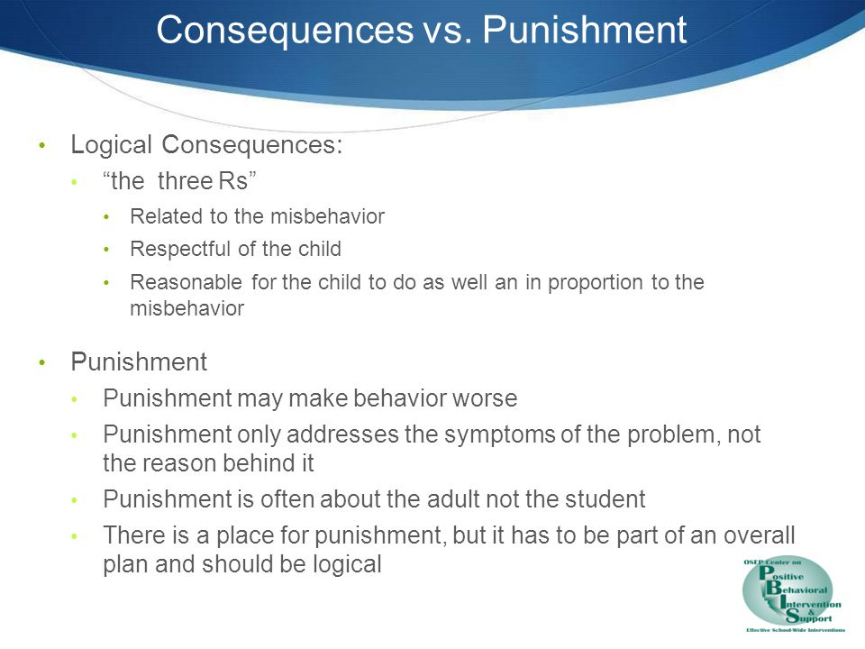 Considerations for selecting responses to problem behavior