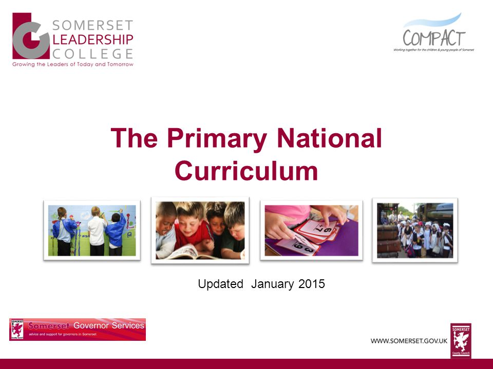 The Primary National Curriculum