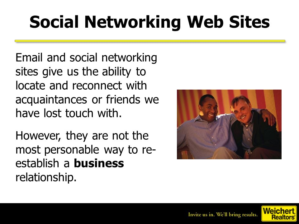 Social Networking Web Sites
