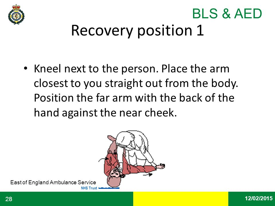 Recovery position 1