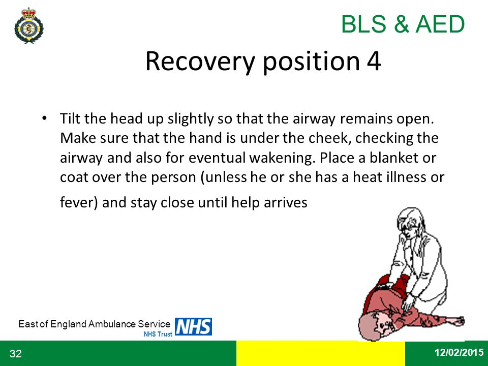 Recovery position 4