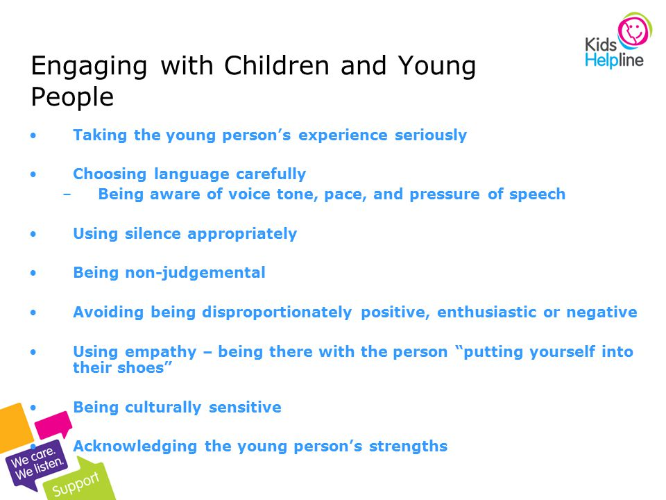 Engaging with Children and Young People
