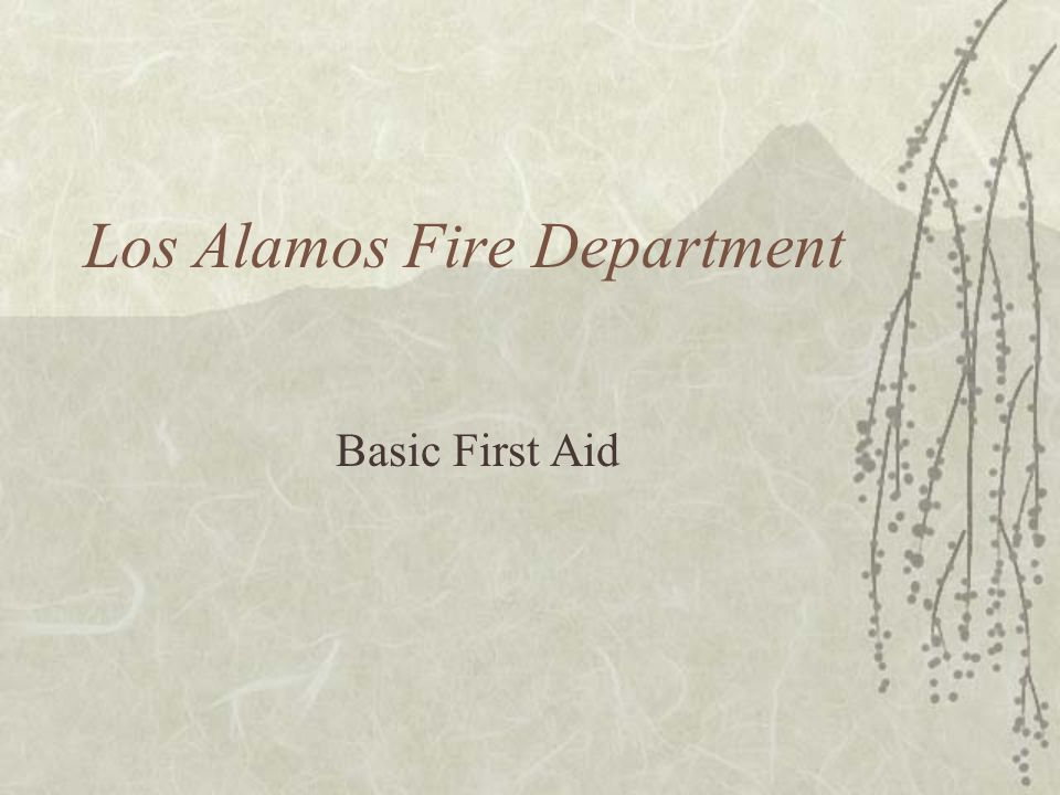 Los Alamos Fire Department
