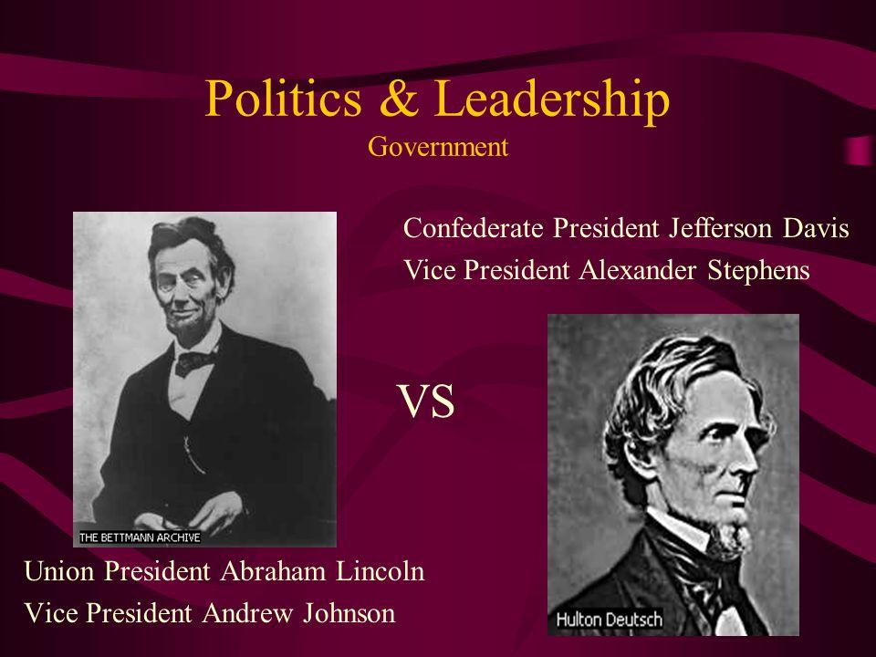 Politics & Leadership Government