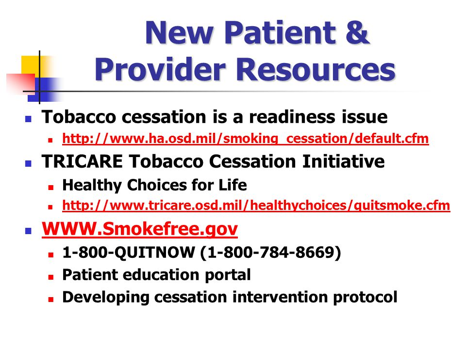 New Patient & Provider Resources