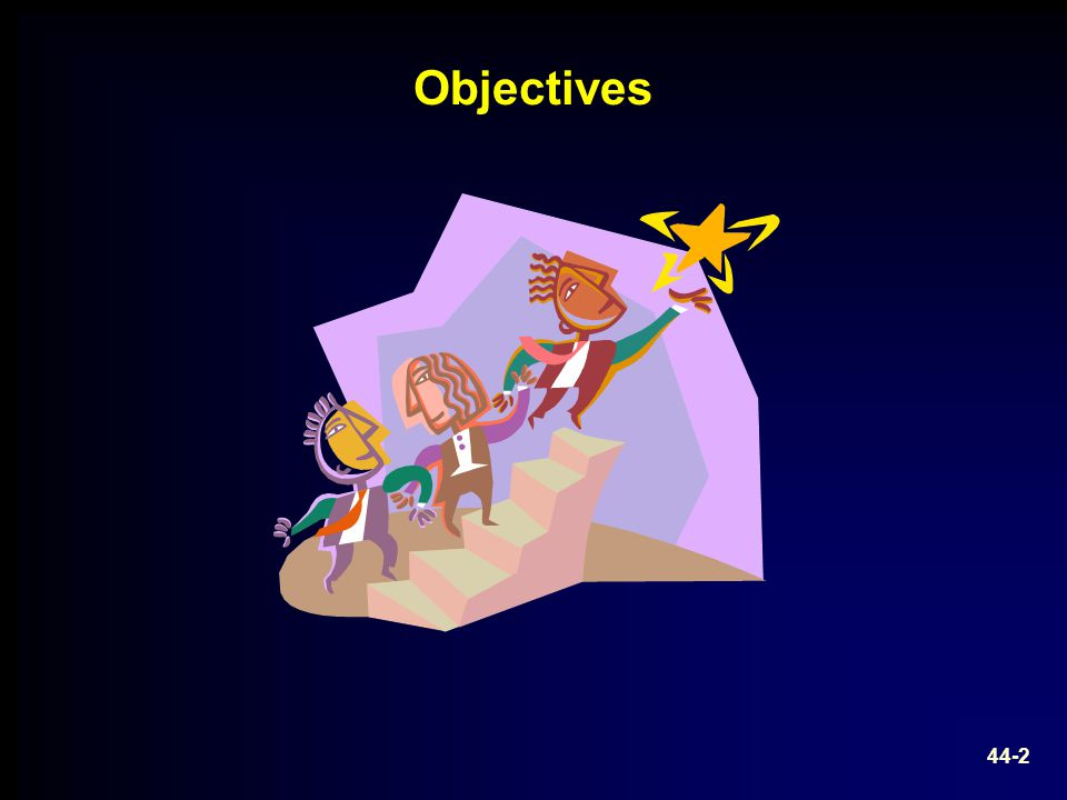 Objectives Image source: Microsoft clipart