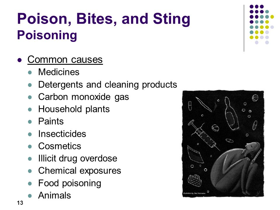 Poison, Bites, and Sting Poisoning