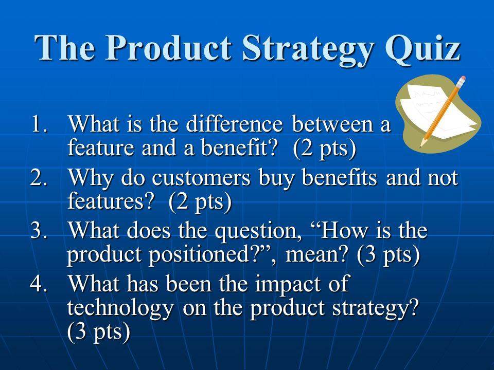 The Product Strategy Quiz