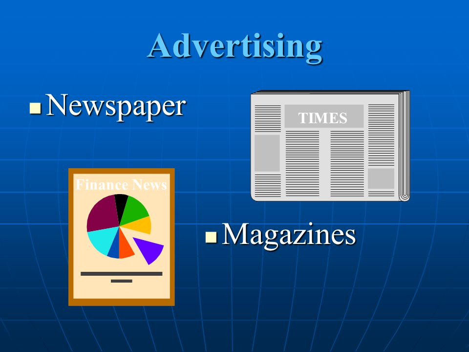 Advertising Newspaper TIMES Finance News Magazines