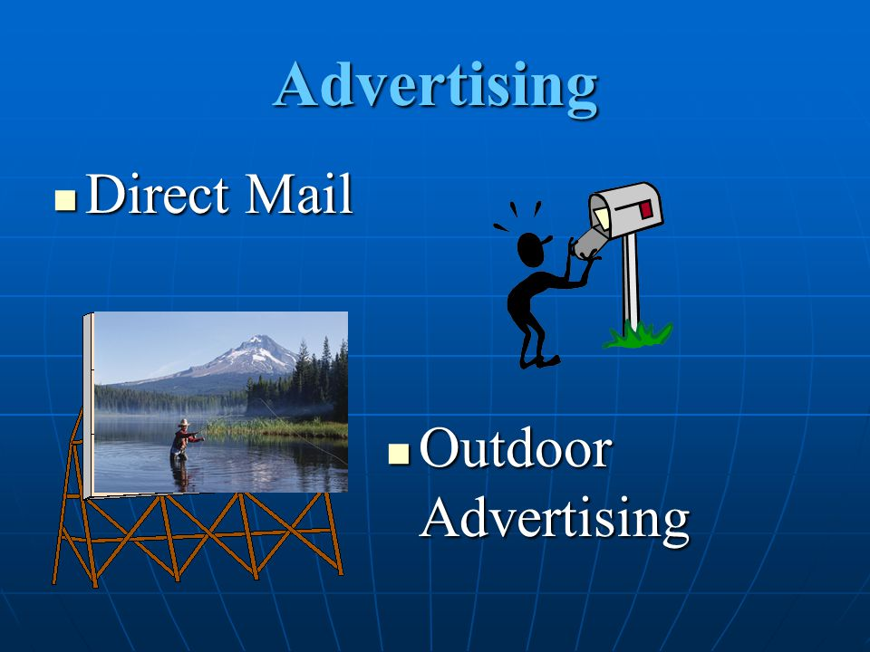 Advertising Direct Mail Outdoor Advertising