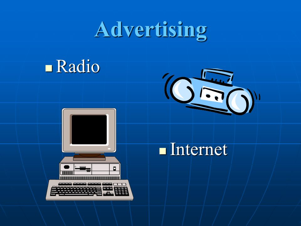 Advertising Radio Internet