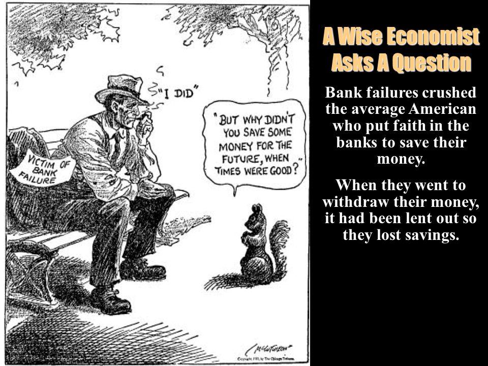 A Wise Economist Asks A Question