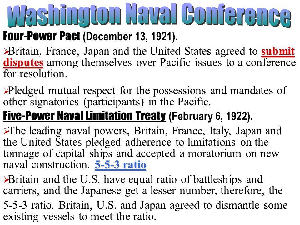 Washington Naval Conference