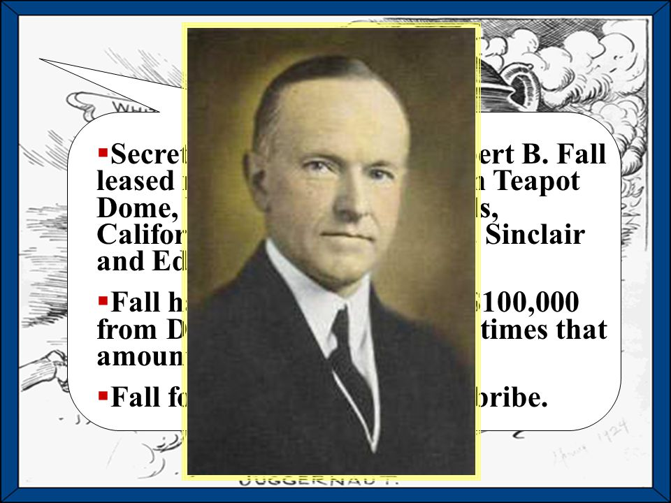 Harding and Coolidge Republican presidents appeal to traditional American values. Harding dies in office after 2 years.