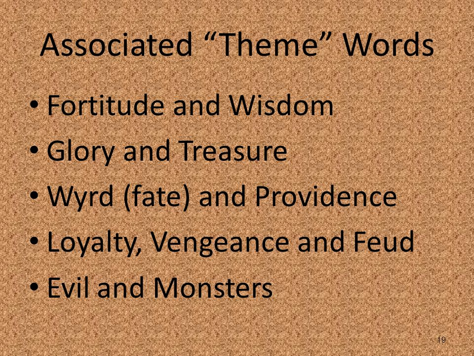Associated Theme Words