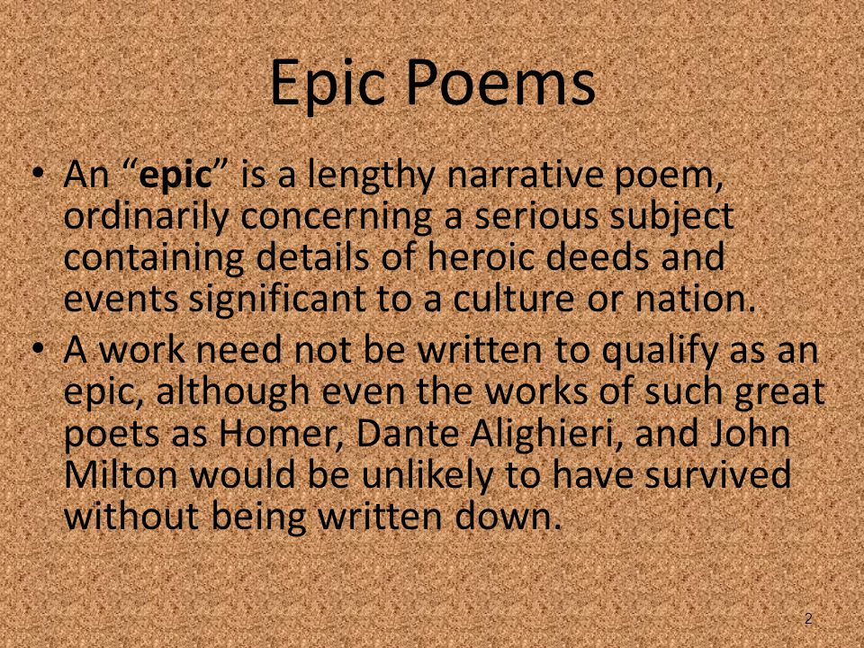 epic heroic poetry essay Explore two epic poems, ''gilgamesh'' and ''the iliad'' and discover the  information these poems  epic hero: definition, characteristics & examples   the hands of an angry god by edwards: summary, analysis & metaphors7:37  william.