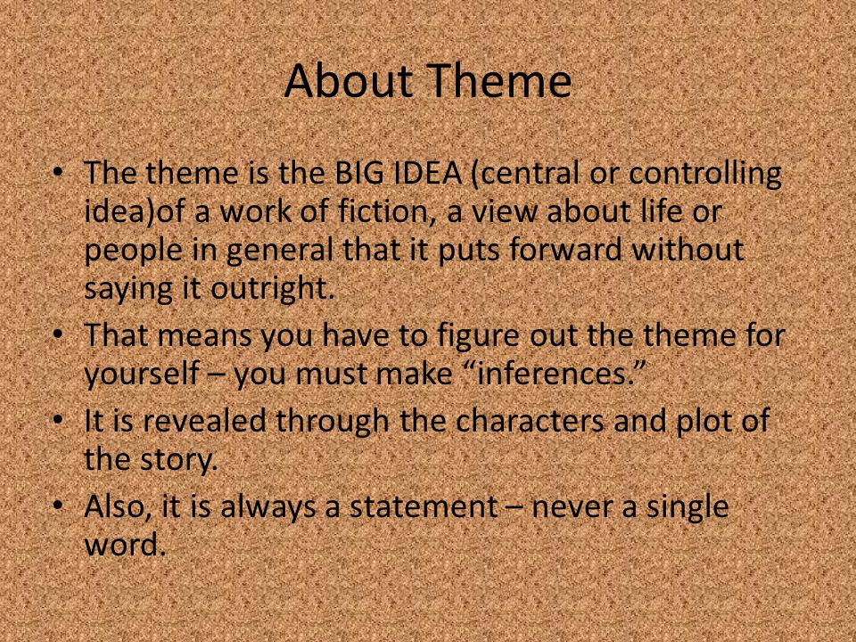 About Theme