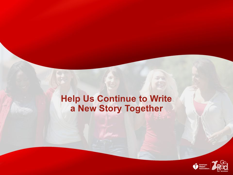Help Us Continue to Write a New Story Together