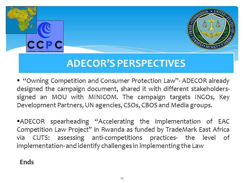 ADECOR'S PERSPECTIVES
