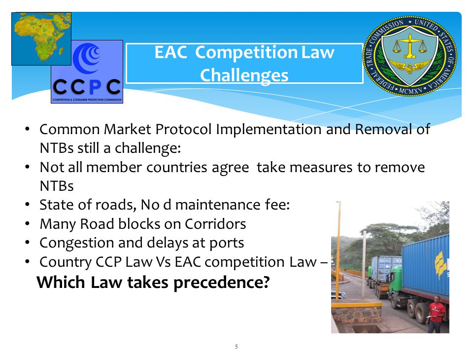 EAC Competition Law Challenges