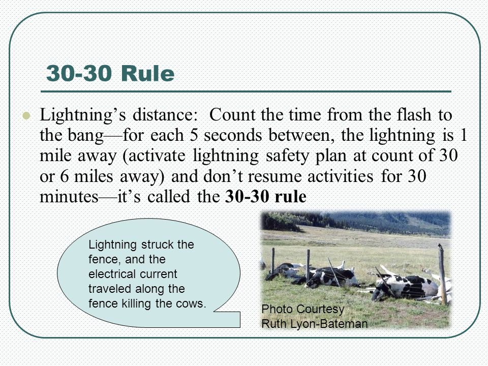 30-30 Rule