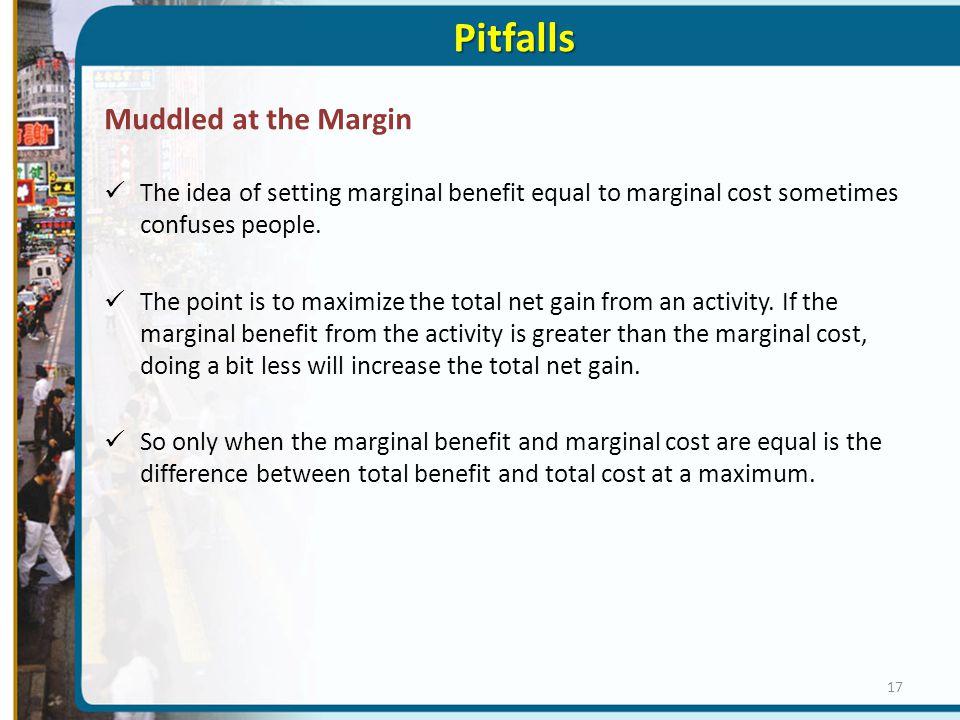 Pitfalls Muddled at the Margin