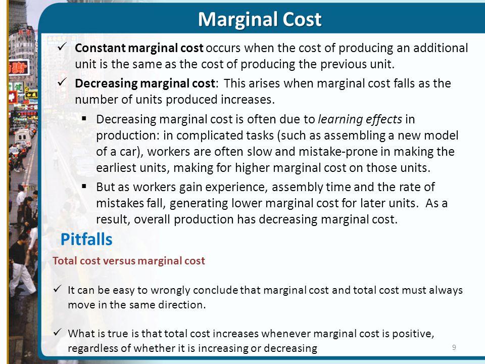 Marginal Cost Pitfalls