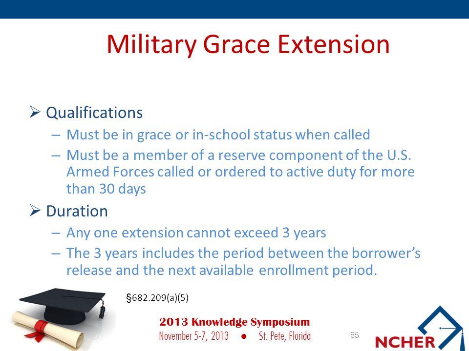 Military Grace Extension