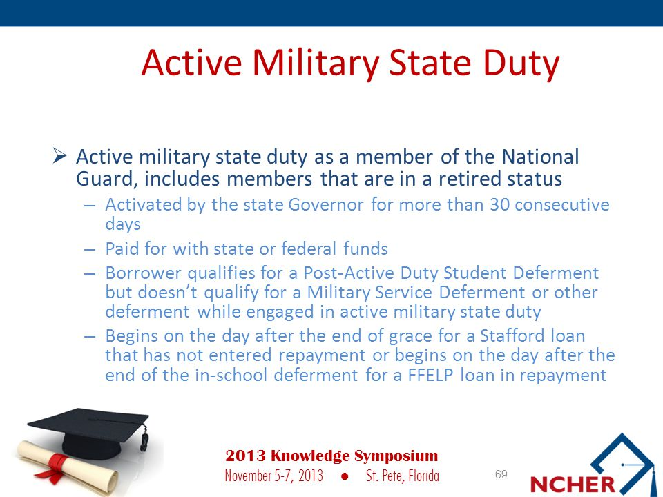Active Military State Duty