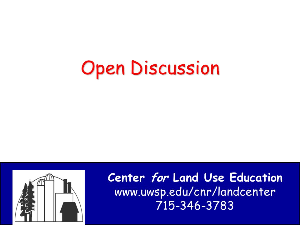 Center for Land Use Education