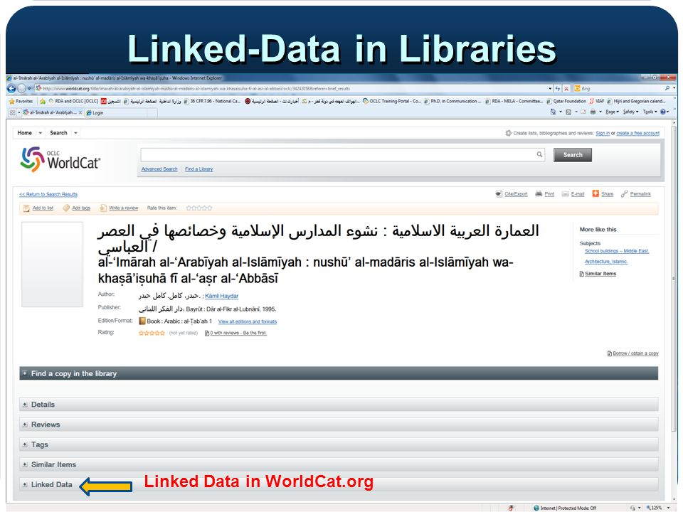 Linked-Data in Libraries