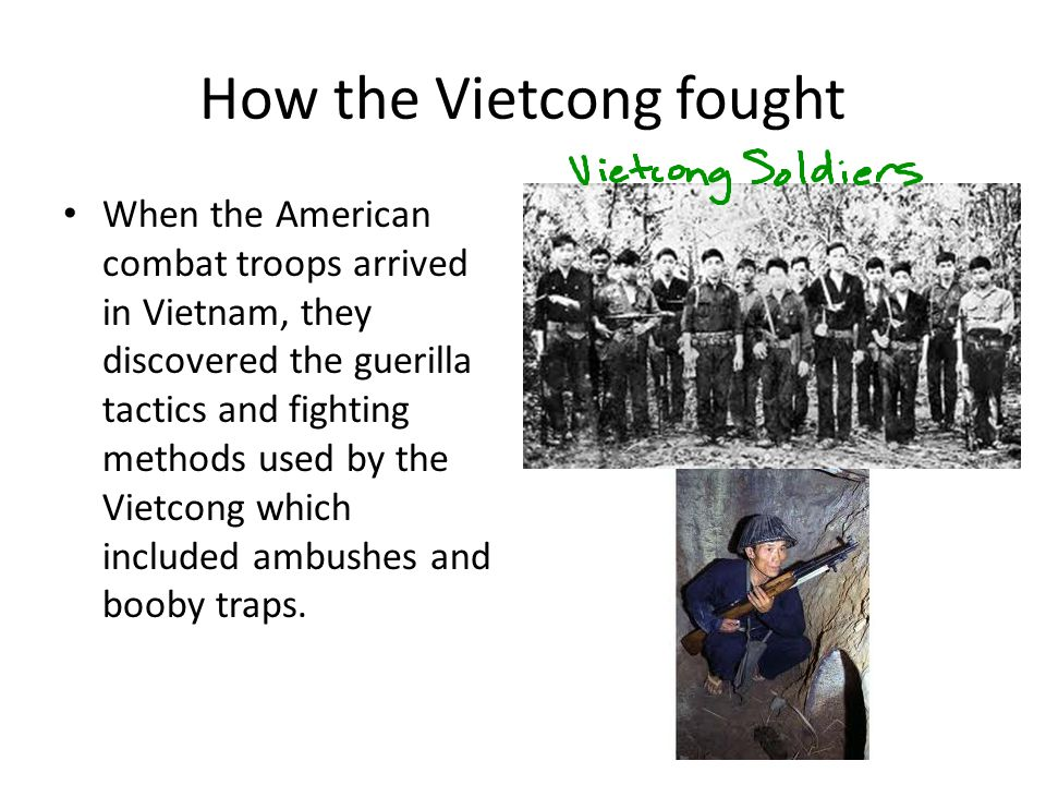 How the Vietcong fought