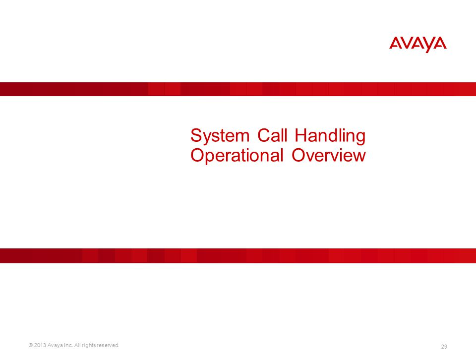System Call Handling Operational Overview