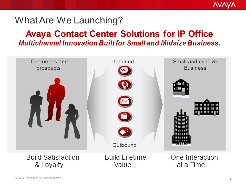 What Are We Launching Avaya Contact Center Solutions for IP Office