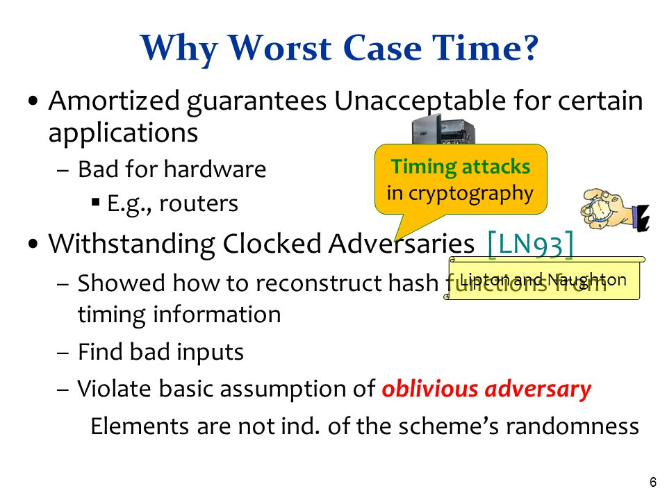 Timing attacks in cryptography