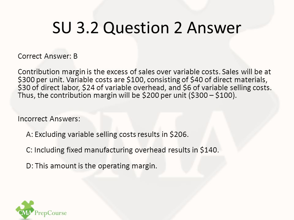 SU 3.2 Question 2 Answer
