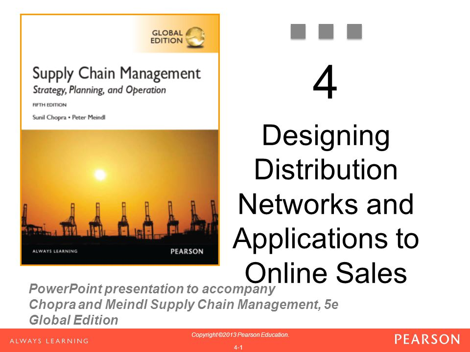 Designing Distribution Networks and Applications to Online Sales