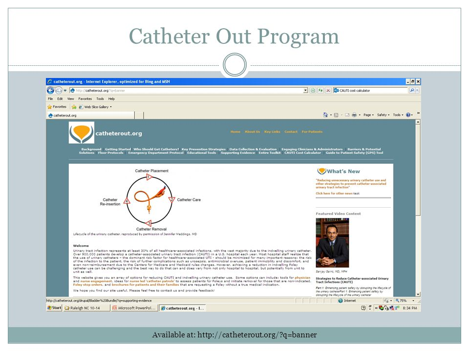 Available at: http://catheterout.org/ q=banner