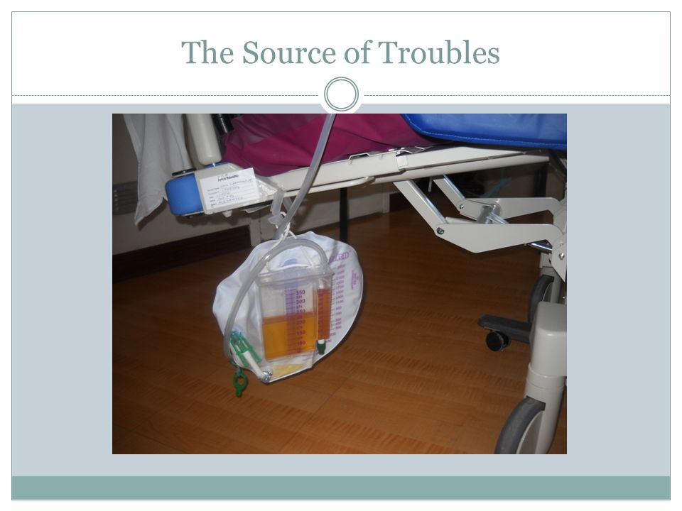 The Source of Troubles