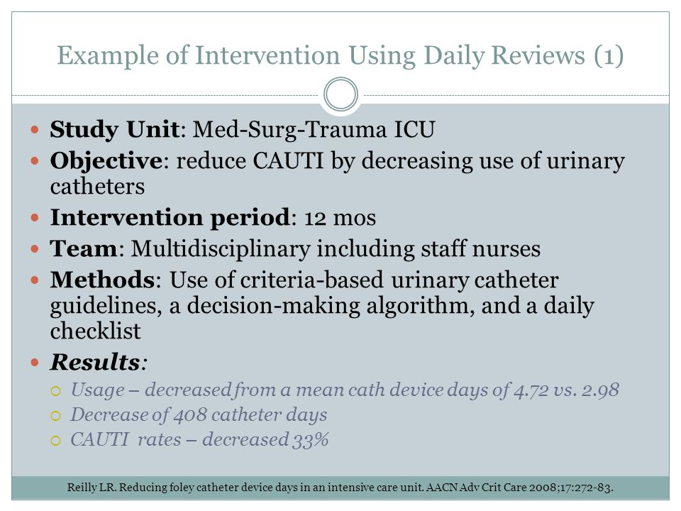 Example of Intervention Using Daily Reviews (1)