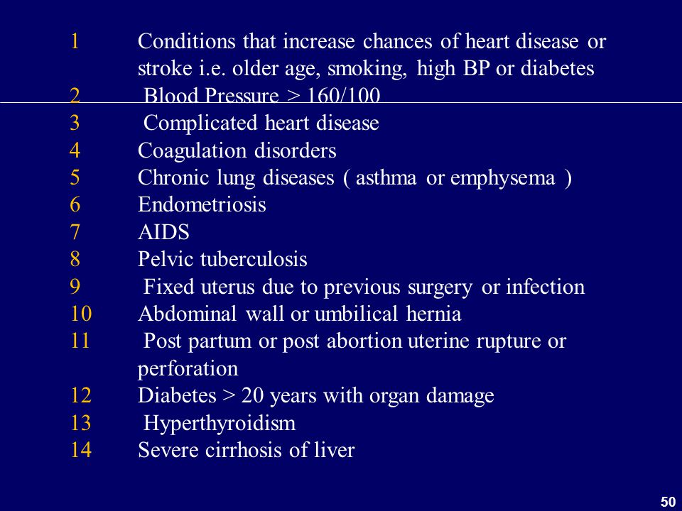 1. Conditions that increase chances of heart disease or. stroke i. e